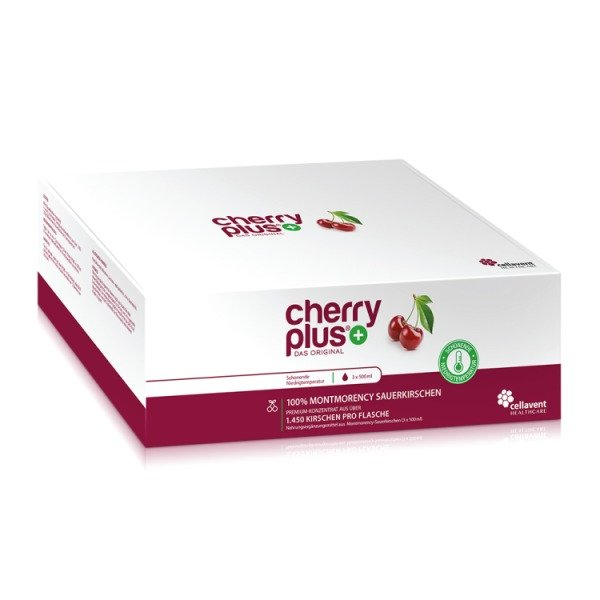 CHERRY PLUS - Montmorency-Sauerkirsch-Konzentrat 1500 ml